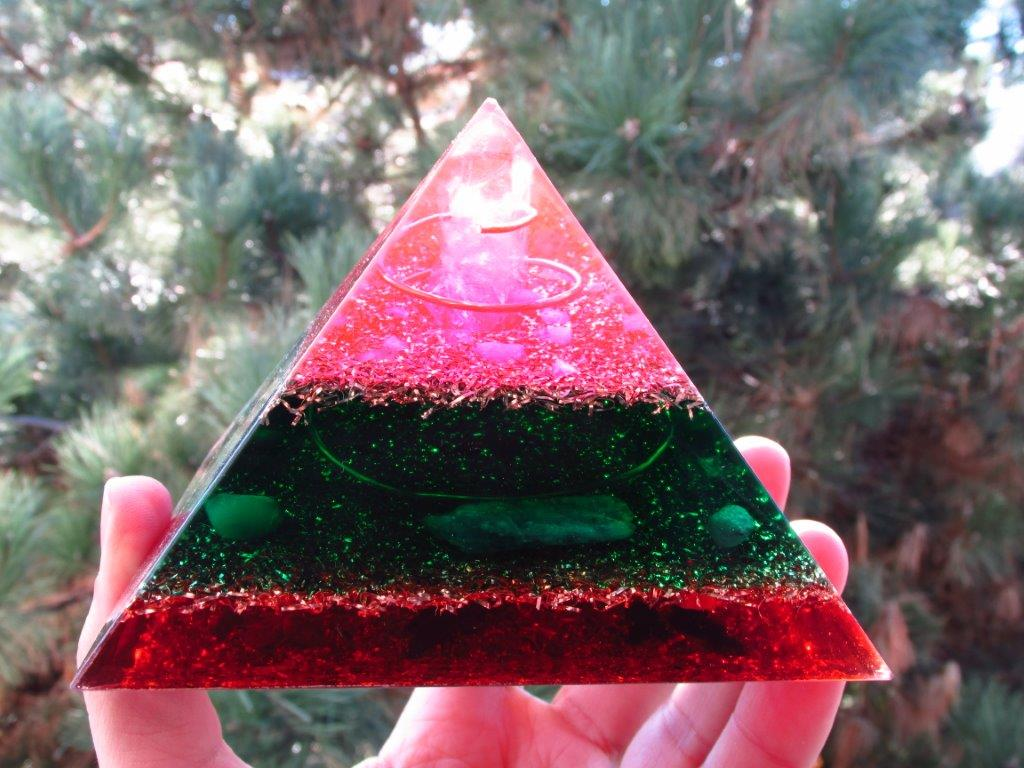 Love Soulmate Orgone Pyramid
